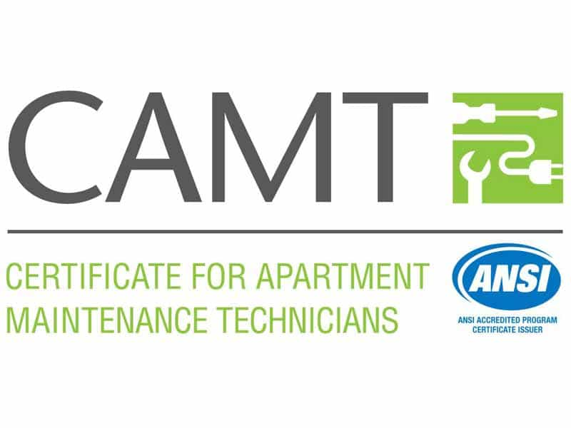 CAMT - Certificate For Apartment Maintenance Technician