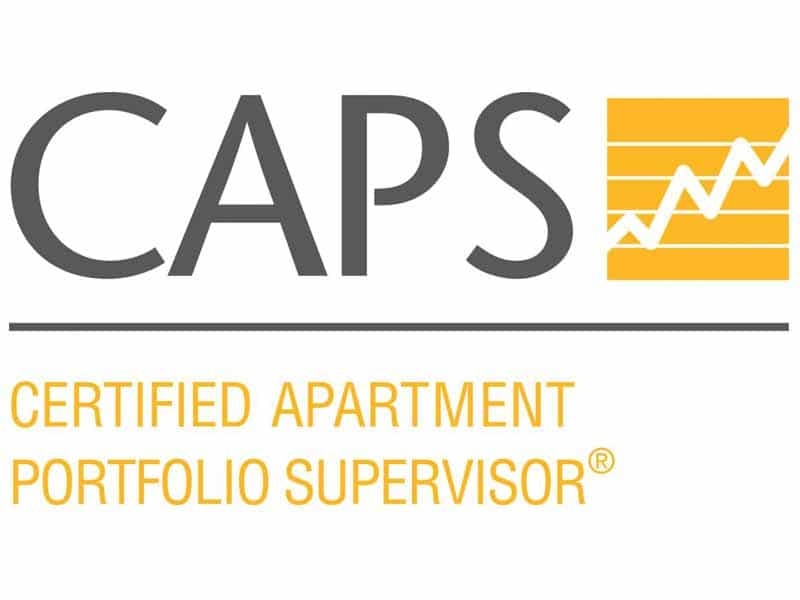 CAPS - Certified Apartment Portfolio Supervisor