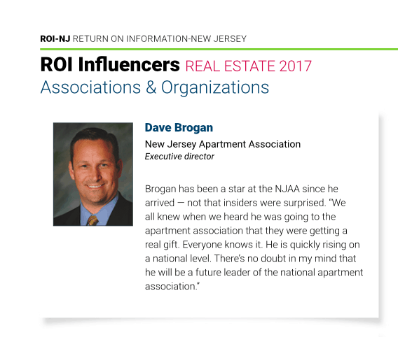 Strong NJAA Representation on ROI-NJ's Inaugural Real Estate Influencers List