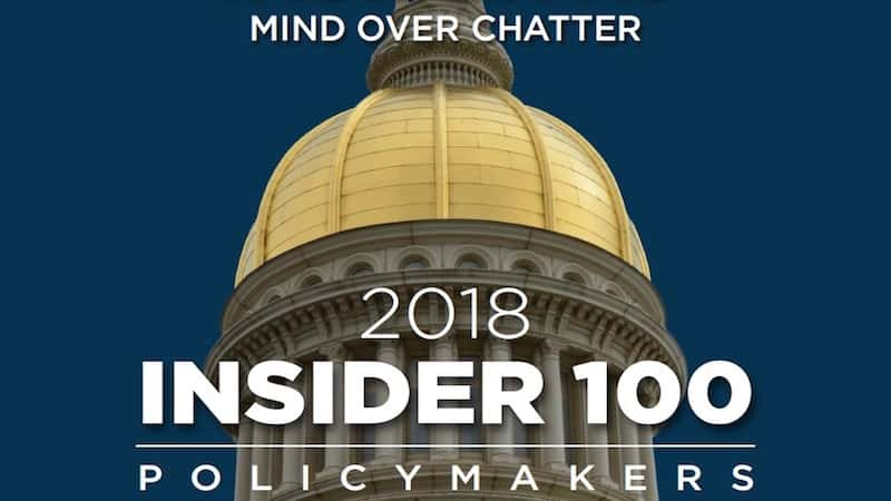 NJAA Executive Director Named to InsiderNJ's 2018 Policy 100 List
