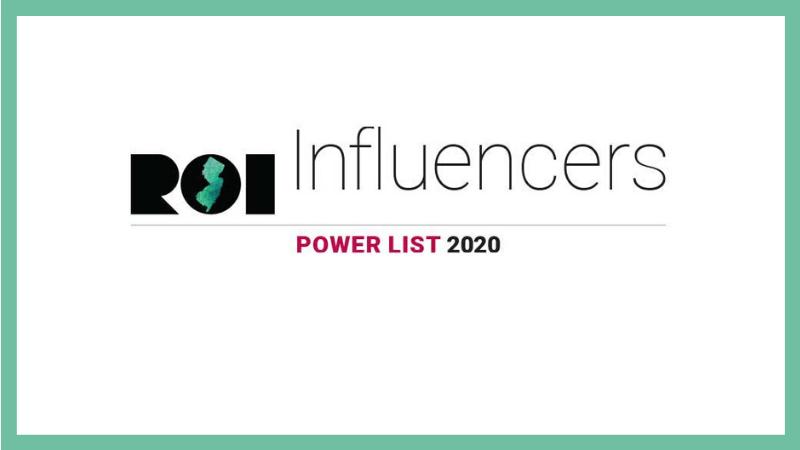 NJAA Members Named to ROI-NJ 2020 Influencers Power Lists