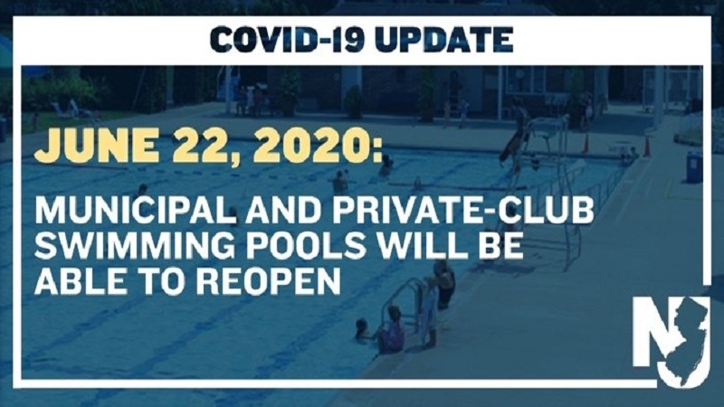 COVID-19 Outdoor Pool Standards Guidance Provided by the  State of New Jersey