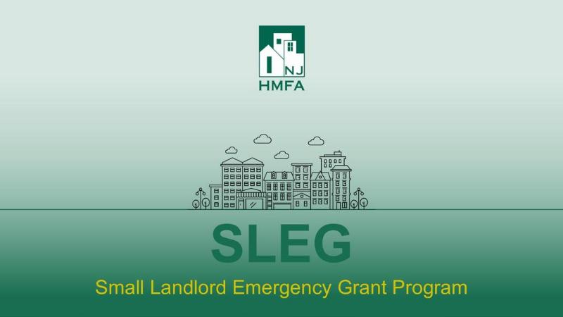 NJHMFA Announces Expanded Small Landlord Emergency Grant (SLEG) Program